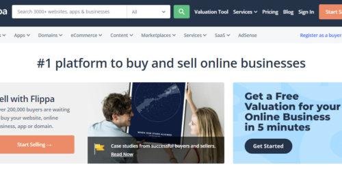 Как купить или продать страницу через flippa.com