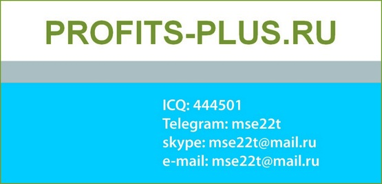 Контакты profits-plus.ru